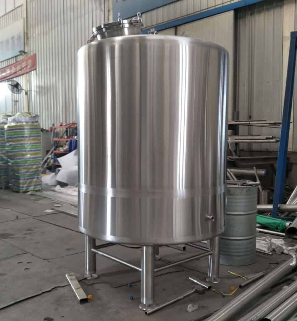 Hot Liquor Tank Manufacturer Hot Water Storage Tank
