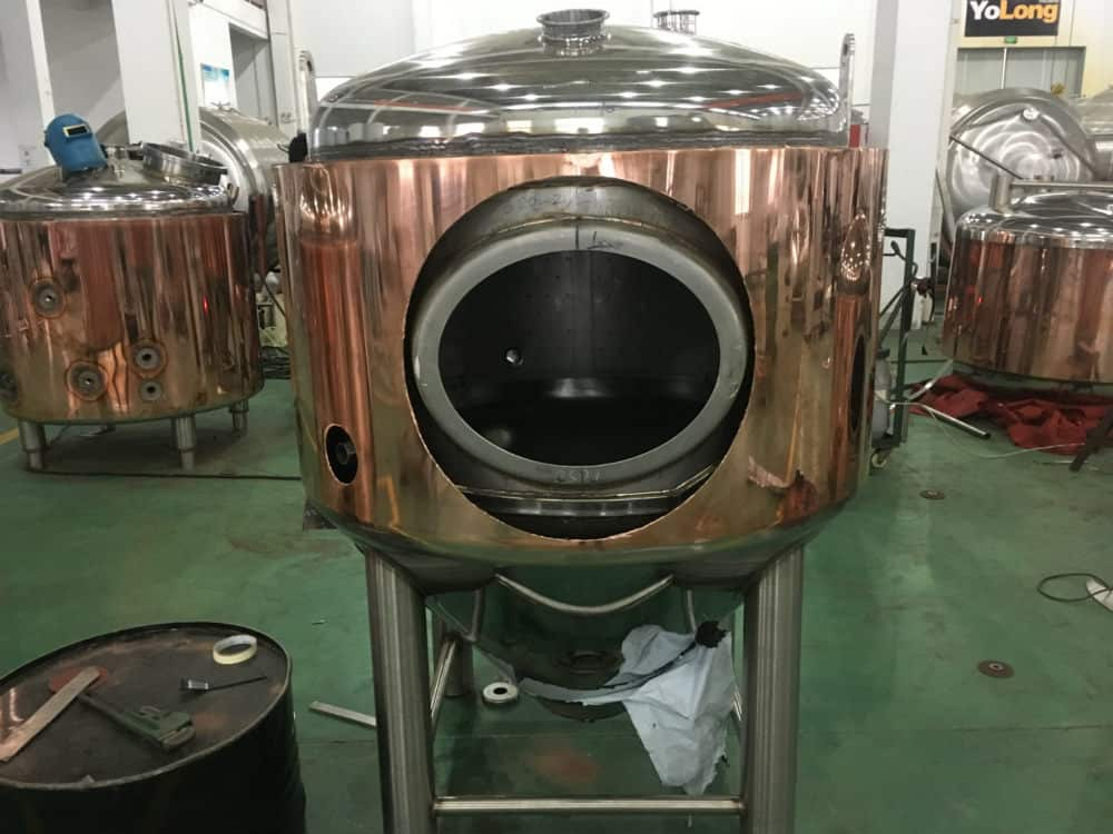 brewery copper tank1