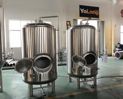 brite beer tanks