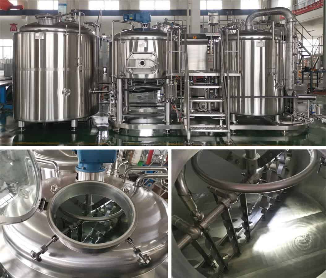 10bbl 2v brewhouse direct fire